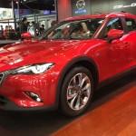 マツダ「新型CX-4」=SUVクーペ;実車デザイン画像集②