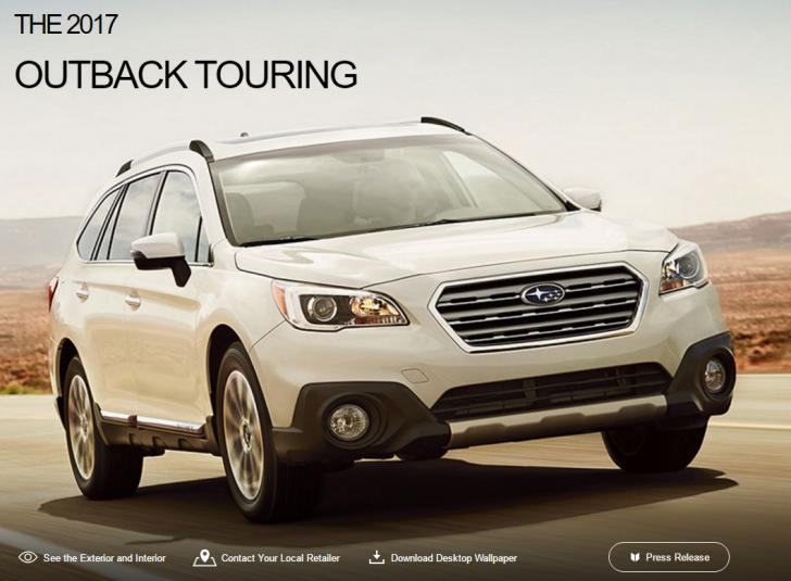 2017 Subaru Outback Touring   Subaru