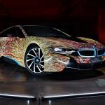 BMW「新型i8 Futurism Edition」発表;公式デザイン画像集