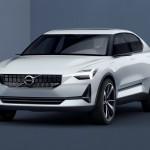 ボルボ「新型S40コンセプト」発表;公式デザイン画像集