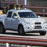 メルセデス・ベンツ「新型Xクラス」=日産ベースのピックアップトラック;スパイショット