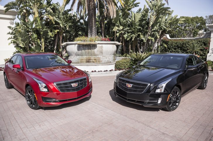 2016-cadillac-ats-sedan-black-chrome-and-2016-cadillac-ats-coupe-black-chrome