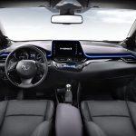 トヨタ「新型C-HR」ついにインテリアも公式デザイン公開!
