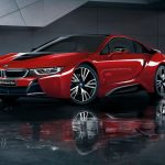 "BMW「i8 Celebration Edition ""Protonic Red""」発表;公式デザイン画像集"