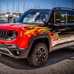 """Jeep「レネゲード」に""""ハーレー""""コラボスペシャル発表;公式デザイン画像集"""