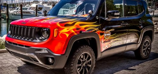 Jeep and Harley Davidson go moto crazy on Renegade   Images