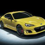 スバル「新型BRZ yellow edition 2016」100台限定日本発売;公式デザイン画像集!