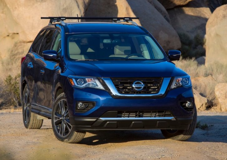 2017 Nissan Pathfinder Gets New Face Greater Towing Abilities