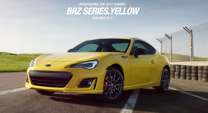 2017 Subaru BRZ SeriesYellow Subaru2