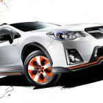 スバル「新型XV HYBRID tS」発表;公式デザイン画像集!