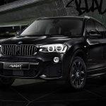 BMW「X3 BLACKOUT」100周年記念モデル発表;公式デザイン画像集!