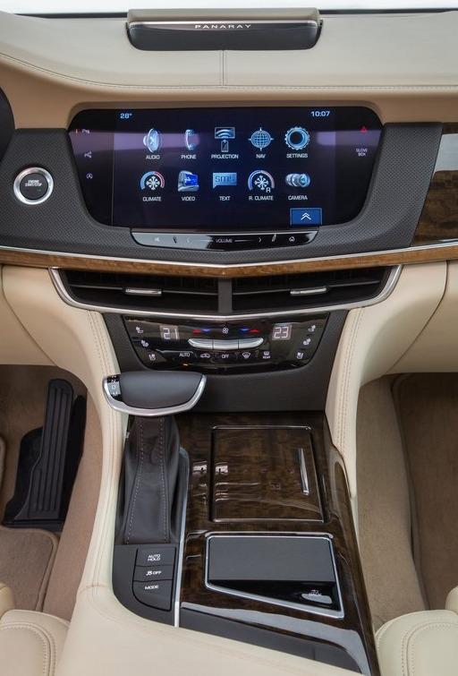 Cadillac CT6 [EU] (2017)7