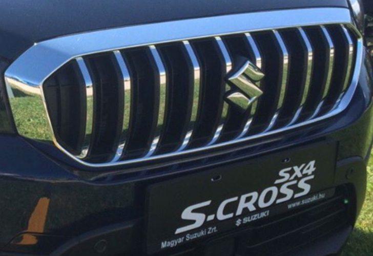 Suzuki-S-Cross-facelift-grille-photographed