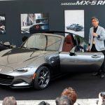 マツダ「新型ロードスターRF」実車が屋外初公開;デザイン画像集!