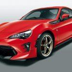 トヨタ「新型86 TRD 2017」発表;公式デザイン画像集!