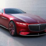 メルセデス「新型Maybach 6 concept」発表;公式デザイン画像集!