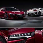ホンダ「新型NSX」日本発表:公式デザイン画像集【エクステリア&ボディカラー】