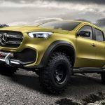 メルセデスベンツ「新型 X-Class Pickup Concept 2016」公式デザイン画像集