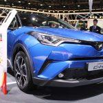 トヨタ「新型C-HR」市販モデル実車画像いろいろ@パリ
