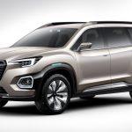 スバル「新型 VIZIV-7 SUV Concept 2016」公式デザイン画像集