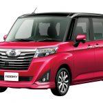 トヨタ「新型ルーミー」発表;公式デザイン画像集!