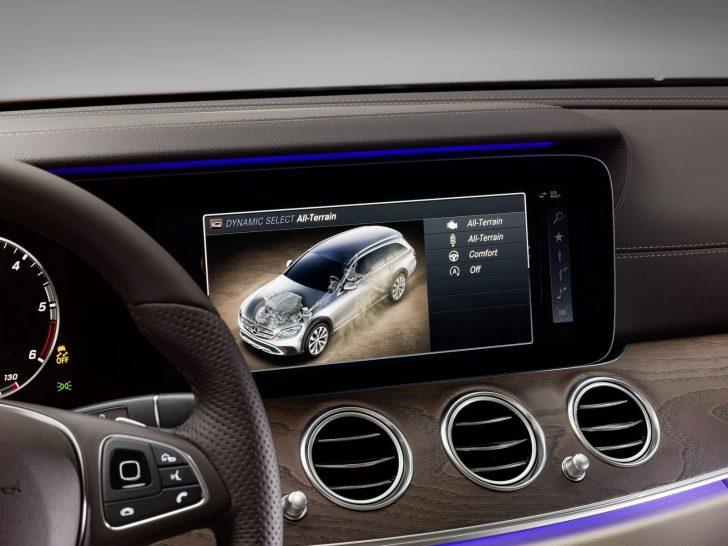 Mercedes-Benz E-Klasse All-Terrain; Studio; 2016; Interieur: Leder Nappa macchiatobeige/espressobraun ;Mercedes-Benz E-Class All-Terrain; Studio; 2016; interior: napp leather macchiato beige/esspresso brown;