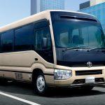 トヨタ「新型コースター」発表!小型バスが24年ぶりのフルモデルチェンジ;公式デザイン画像集!