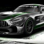 Mercedes-AMG「新型GT4 racecar」発表;公式デザイン画像集!