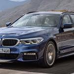 BMW 「新型 5-Series Touring 2018」公式デザイン画像集