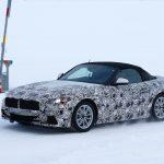 BMW「新型Z5」スパイショット;トヨタとの共同開発スポーツ!