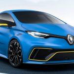 ルノー「新型 Zoe e-Sport Concept 2017」公式デザイン画像集