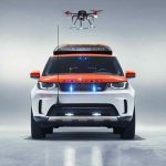 "Land Rover「Discovery ""Project Hero""」赤十字特注モデルはドローン搭載!"