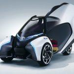 トヨタ「新型 i-TRIL」小型EVコンセプト発表;公式デザイン画像集!