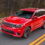 Jeep「新型グランドチェロキーTrackhawk 2018」発表;公式デザイン画像集!