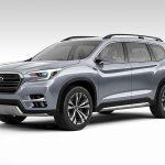 スバル「新型ASCENT SUV CONCEPT」発表;公式デザイン画像集!
