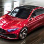 メルセデスベンツ「新型 A Sedan Concept 2017」公式デザイン画像集