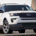 フォード「新型 Explorer Sport 2018」公式デザイン画像集