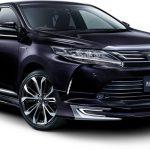 トヨタ「新型ハリアー」に2種類の『モデリスタ』を発表!