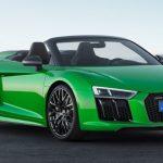 アウディ「新型 R8 Spyder V10 plus 2018」公式デザイン画像集