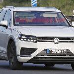VW「次期トゥアレグ」スパイショット撮影!T-Prime市販版?