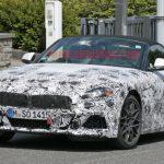 BMW「新型Z4」スパイショット;トヨタ次期スープラ兄弟モデル!