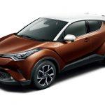 トヨタ「C-HR」にツートンカラーを追加;公式デザイン画像集!