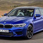 BMW 「新型 M5 2018」公式デザイン画像集