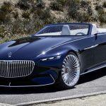 「Vision Mercedes-Maybach 6 Cabriolet」はメルセデスの未来?公式デザイン画像集!