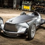 Infiniti「Prototype 9」発表;レトロレーサーは最新EV!