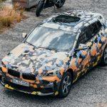 BMW「新型 X2 プロトタイプ」画像を公開;最小SUVクーペ!