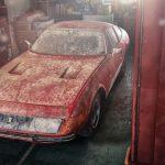 日本の納屋で発見された世界で1台のフェラーリ;実車画像を公開!