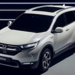 ホンダ「新型 CR-V Hybrid Concept 2017」公式デザイン画像集