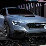 SUBARU「新型 VIZIV PERFORMANCE CONCEPT」実車の生画像@東京モーターショー!
