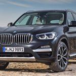 BMW 「新型 X3 2018」公式デザイン画像集!
